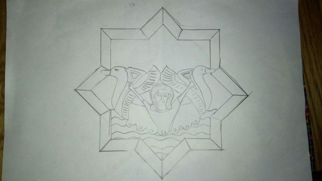 Diseño del Banderín de la Unidad Asta Regia